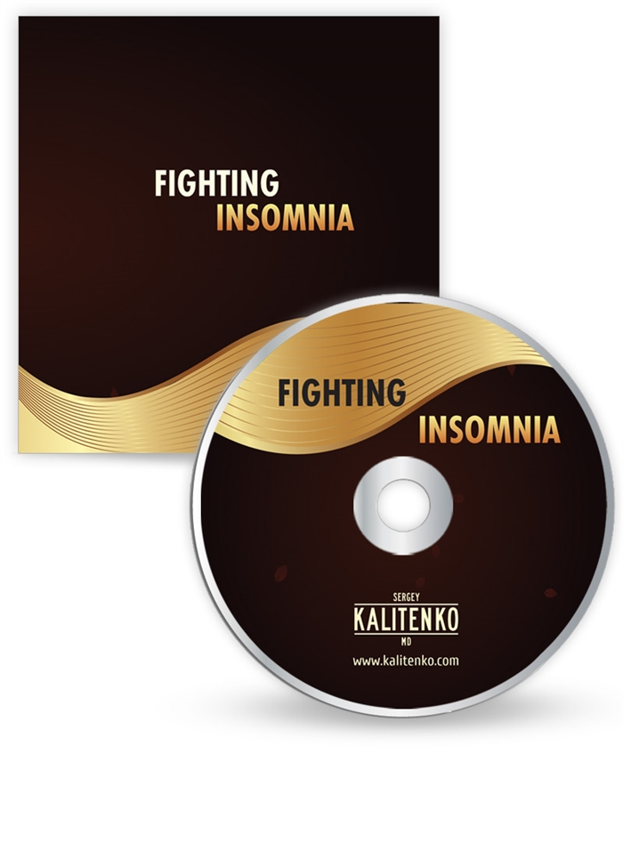 CD Cover and Sleeve - Fighting Insomina