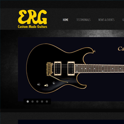 Design and Development  for ERG Custom Guitars